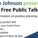 swayne johnson free public talk north wales chester