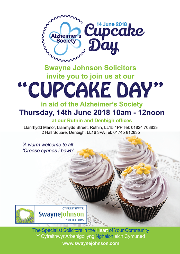 swayne johnson cupcake day